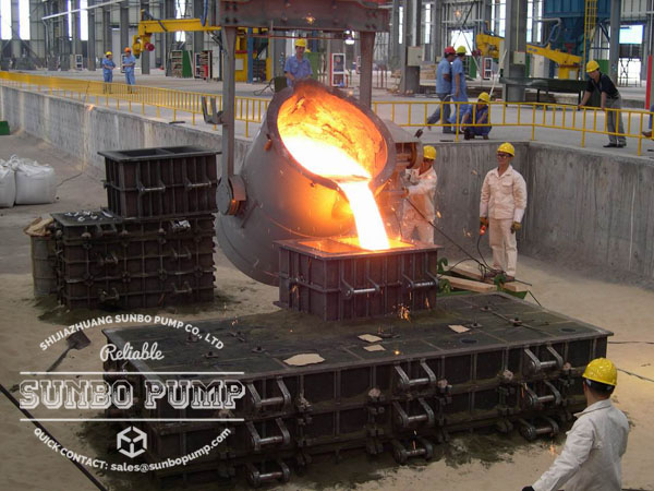 slurry pump wear parts casting